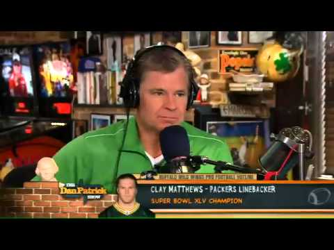 Clay Matthews on The Dan Patrick Show 9.14.12