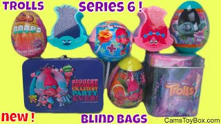Trolls Series 6 Blind Bags Surprises Toys Chocolate Easter Eggs Chupa Chups Tins Dreamworks