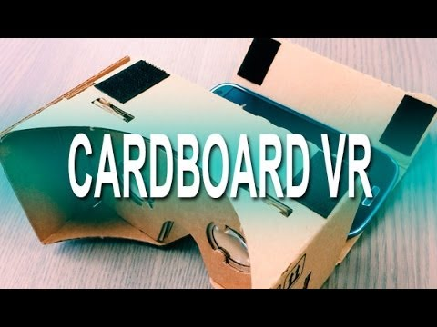 Cardboard, así son las gafas de realidad virtual de cartón de Google