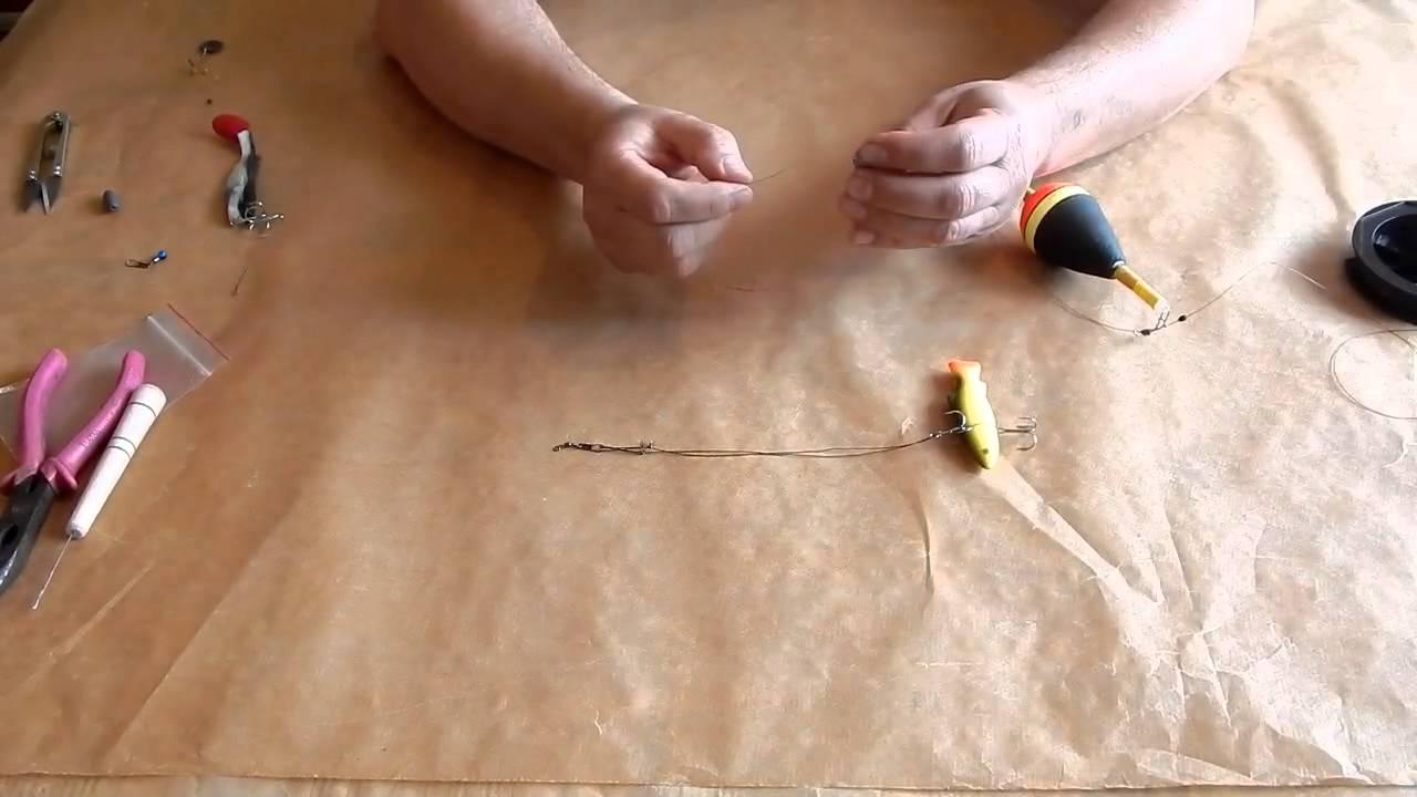 Как сделать кану для живца своими руками