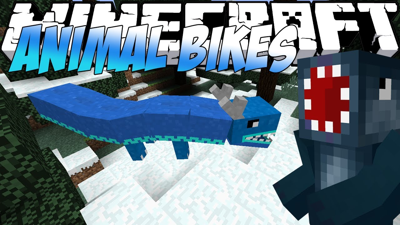 Animal Bikes Mod Minecraft 1.7.10 Minecraft Mods Showcase