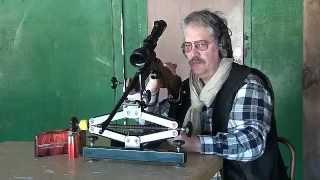 La kipplauf Baïkal calibre 270 Winchester.