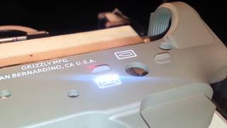 Laser engraving HK bullets on AR15 receiver