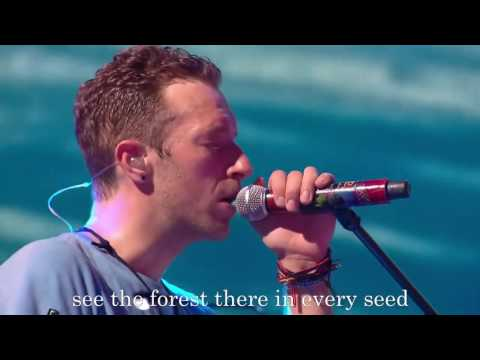 Coldplay - Up & Up Lyric konser