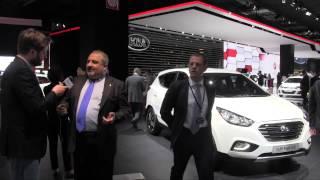 Hyundai, con Carlo Sabbatini tutte le novità di Parigi 2014