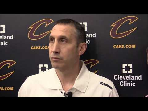 Cavaliers David Blatt on going forward in NBA playoffs without Kevin Love