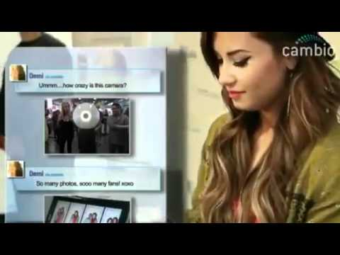 EXCLUSIVE Demi Lovato - Behind the Scenes HTC Fans. Music Videos
