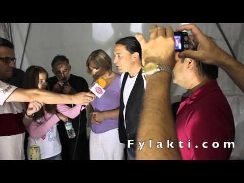 Συνέντευξη Γιάννης Κότσιρας για τη συναυλία στη πλαζ Λίμνης Πλαστήρα 24-8-14 - Fylakti.com