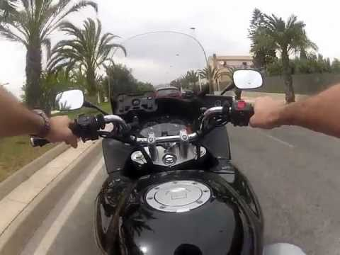 Honda CBF 600 S 2007 GoPro Hero 2 960p