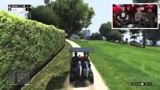GTA 5: Playing Golf - IGN Live
