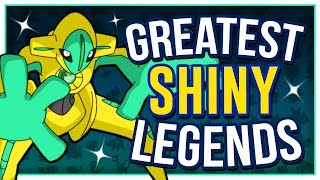 TOP 10 SHINY LEGENDARY POKÉMON!!