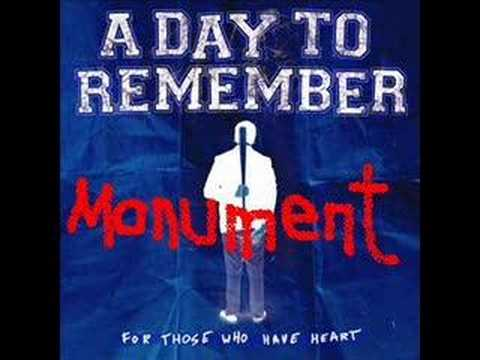 A DAY TO REMEMBER - Monument Video