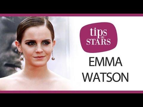 Les cheveux tirés d'Emma Watson