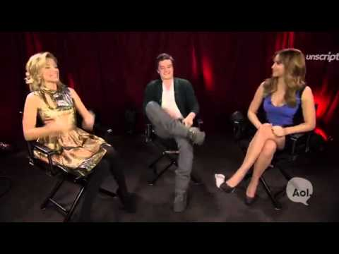 Unscripted Interview - Jennifer Lawrence, Elizabeth Banks, and Josh Hutcherson