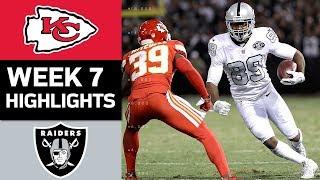 Chiefs vs. Raiders | NFL Week 7 Game Highlights by : NFL