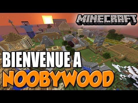 NOOBYWOOD : Serveur en mode SURVIE, construit uniquement à DEUX! (Minecraft)