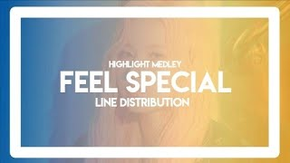 Twice Feel Special Album Highlight Medley ┃ Line Distribution