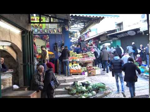 20160129 15:37 market street towards Damascus Gate