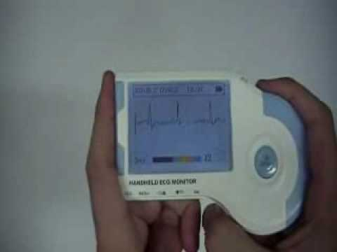 Portable ECG Monitor Demonstration