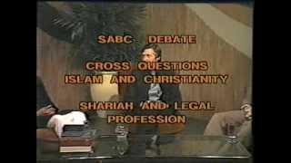 Islam Christianity SABC Debate (Ahmed Deedat)