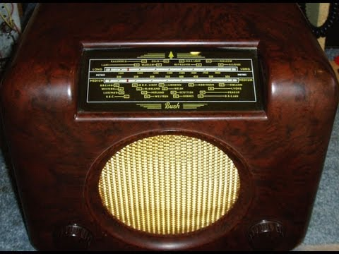 BUSH DAC90A VINTAGE VALVE RADIO