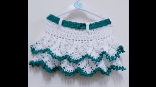 CROCHET PINAPPLE SKIRT-4