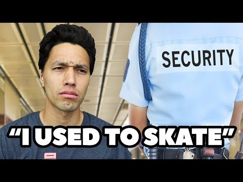 WHAT SECURITY REALLY THINKS OF SKATERS!