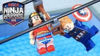Lego Ninja Warrior Superhero Champion League Episode2