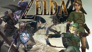 The Legend Of Zelda: All Dark Link Boss Battles - 1,000 Subscriber Special!