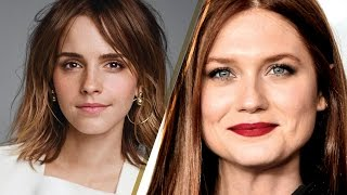 Emma Watson & Bonnie Wright Have a SURPRISE
