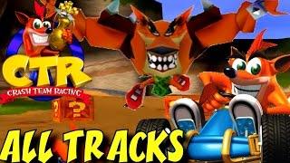 Crash Team Racing - All Tracks