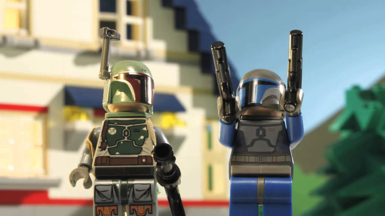 Lego Jango Fett And Boba Fett Boba et Jango Fett Lego