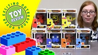 Pac-Man Funko Pop! Ms. Pac-Man, Inky, Pinky, Blinky, Clyde & Blue Ghost - Toy Review