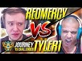 REDMERCY VS TYLER1! IT'S SHOWDOWN TIME!! - Journey To Challenger | League of Legends MP3