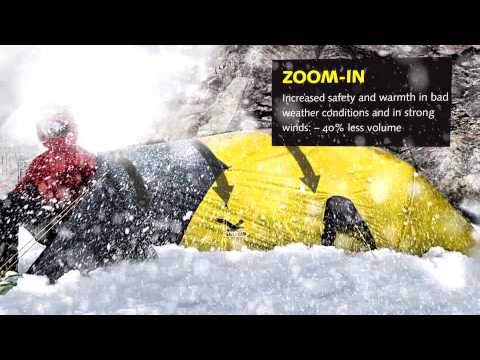 Be it storming or snowing: Capsule Zoom --  WINNER OF THE Outdoor Industry Award 2012