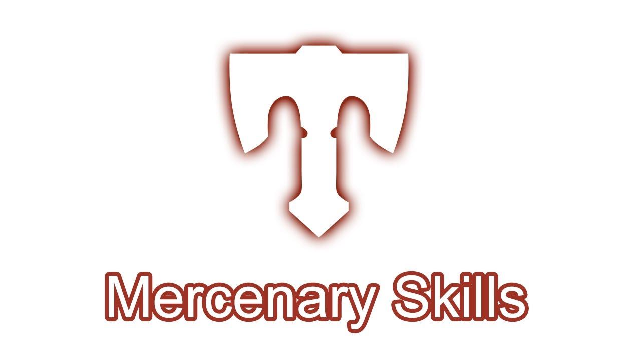 Dragon Nest Mercenary Skills