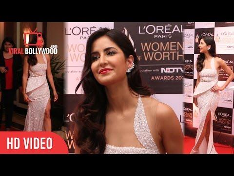 Katrina Kaif at Loreal Paris Women of Worth Awards 2016 | NDTV