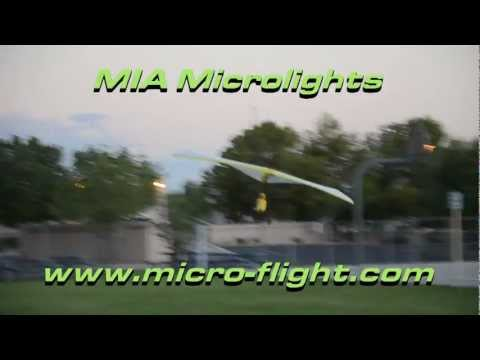 Awesome! RC Microlights - Trikes - Ultralights - MIA Mini Robo Weight-Shift RC  Full High Def. Video