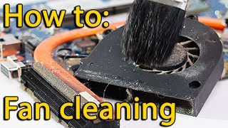 How to disassemble and fan cleaning laptop Dell Latitude E6320, E6420, E6520