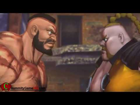 Street Fighter X Tekken - All Rivals Cutscenes (Capcom + Namco)