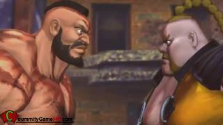 Rivals - Street Fighter X Tekken - All Rivals Cutscenes (Capcom + Namco)