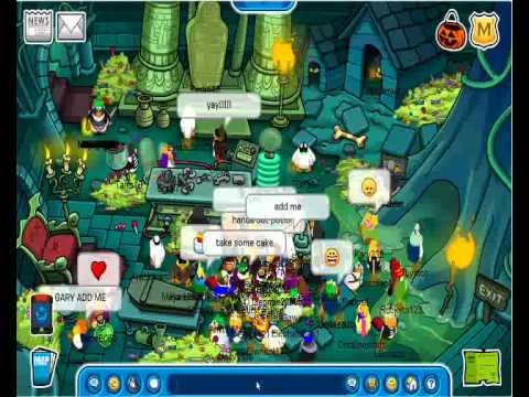 Club Penguin Cheats - Meeting Gary November 2010