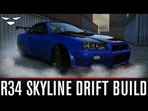 Forza Horizon 2 | Nissan Skyline Gt-r R34 (2002) Drift Build video
