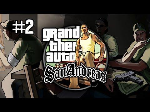 GTA SAN ANDREAS #2 PC PL Vertez+ Gameplay Zagrajmy w