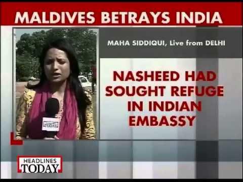 Maldives betrays India, arrests ex-president Mohamed Nasheed-1