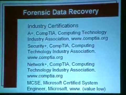 HOPE Number Six (2006): Basics of Forensic Recovery