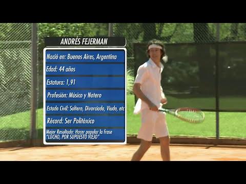 ADELANTO - CHANGO FEROZ - PARTIDO DE TENIS - EDU FEINMANN VS ANDY CHANGO - 20-10-14