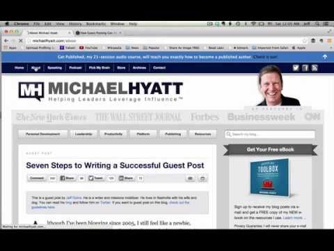 Seven Steps to Creating Killer Guest Posts