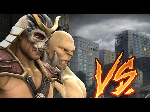 Mortal Kombat Komplete BOSS Tag Ladder  SHAO KAHN, GORO