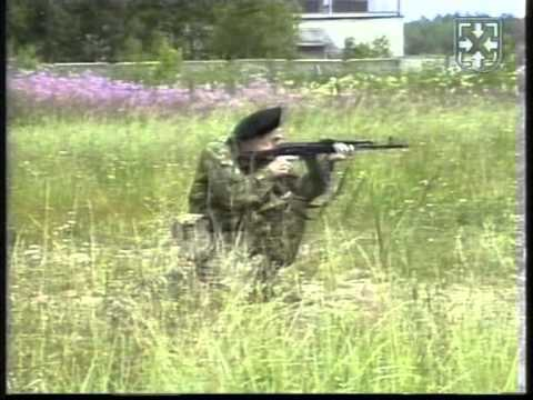 Демонстрация стрельбы из ПМ.АК.СВД. из различных положений.